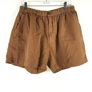 Chubbies Mens Brown Outdoor Shorts DR10663